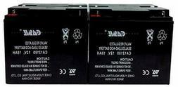 12 Pack Casil 12V 18AH T1 for Power Patrol SLA1116 Pride Mob