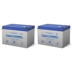 Powersonic 12V 12AH F2 Battery for Pride Mobility Go Go Scoo