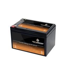 Chrome Battery 12V 12AH Sealed Lead Acid  Battery for Toy Ca