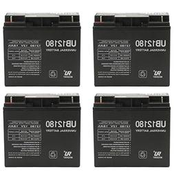 Universal Power Group 12V 18AH Battery for E-Wheels EW-72 Ba