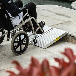 2'-10' Aluminum Wheelchair Ramp Loading Scooter Mobility Han