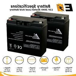 12V 20AH SLA Rechargeable Batteries for Pride Mobility Go-Go