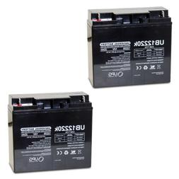 2 PACK UPG UB12220 12V 22AH Battery Drive Medical Ventura 4