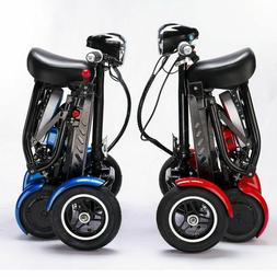 Lightweight Foldable Mobility Scooter Automated Electric Pow