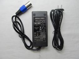 24V 2AMP Auto XLR Battery Electric <font><b>Scooter</b></fon