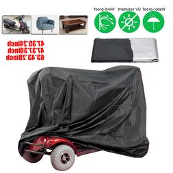 3 Size Mobility Scooter Storage Cover Rain Waterproof UV Pro