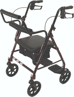 ProBasics Transport Rollator Walker With Seat and Wheels - F
