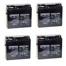 4 PACK UPG UB12220 12V 22AH Battery for Drive Medical Ventur