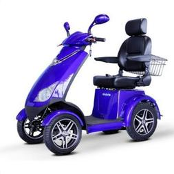 4 Wheel Mobility Scooter Color: Blue