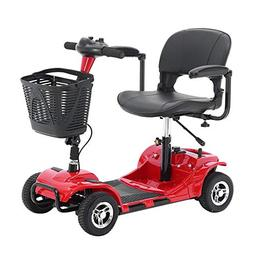 4 Wheel Electric Mobility Power Scooter Travel Transportable