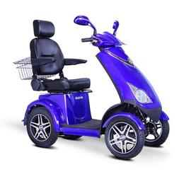 EWheels  4-Wheel Heavy Duty Scooter with Electromagnetic Bra