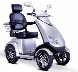 E-Wheels 4 Wheel Heavy Duty Scooter with Electromagnetic Bra