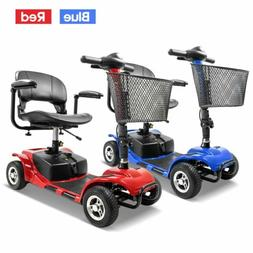 4 Wheel Power Scooter Medical Mobility Disability Handicap I
