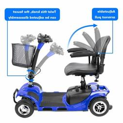 4 wheels power mobility scooter for medical disability handi
