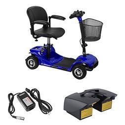 Graspwind 4 Wheels Travel Power Scooter Transportable Electr