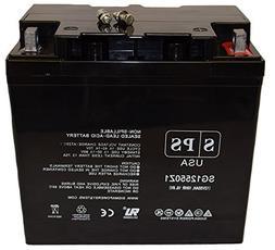 """12V 55AhPride Mobility BATEL1003 Sealed""""GEL Equivalent"""" 12 V"""