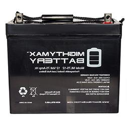 Mighty Max Battery 12V 75AH Battery Replacement for Pride Mo