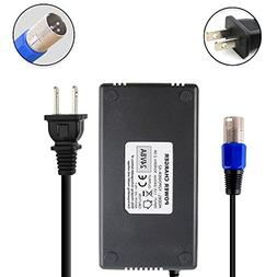 Abakoo New 24V 8A Battery Charger with XLR Connector for Car
