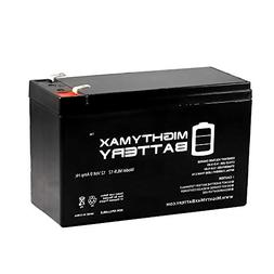 Mighty Max Battery 12V 9Ah Battery Replacement for APC Back-