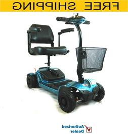 EV Rider - Folding  MiniRider  Mobility scooter , Blue, Free