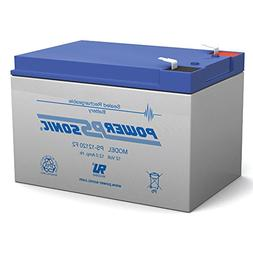 Powersonic PS-12120F2 - 12 Volt/12 Amp Hour Sealed Lead Acid