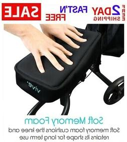 Vive Knee Walker Pad Cover - Padded Memory Foam Accessory fo