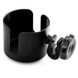 BodyHealt Adjustable Cup Holder - Black - for Any Kind of St