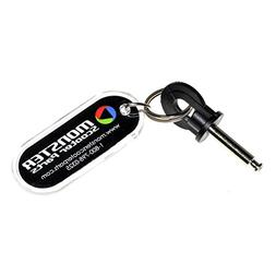 Alvey Key  with Flat Circle Head for Pride Revo  Scooters