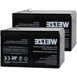 Weize Battery 12V 12Ah Scooter Battery Travel Mobility Go-Ch