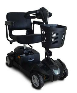 Black CityCruzer Mobility Scooter, 300 lb Cap, Suspension, E