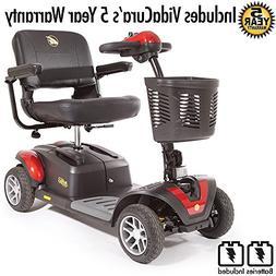 Golden Technologies Buzzaround XL EX 4 Wheel Scooter Includi