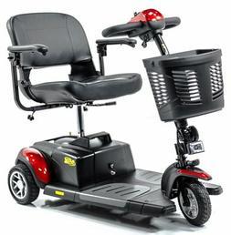 Buzzaround XL 3-Wheel Electric Travel Mobility Scooter Golde