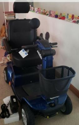 Pride Celebrity X LE 4 Wheel Mobility Scooter NWT Blue With