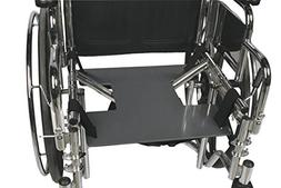 "AliMed Chair - Wheelchair Drop Seat with 18"" Poly Cushion"