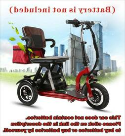 Compact Folding 3 Wheel Travel Portable Mobility Scooter Dri