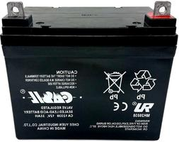 Compatible 12V 33Ah 35ah Wheelchair Battery for Pride Mobili