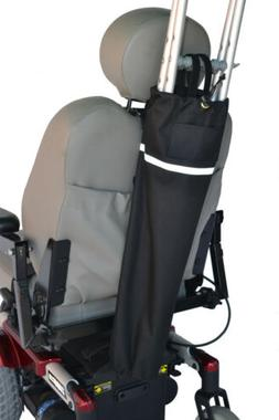 Crutch Holder for Mobility Scooters, Powerchairs & Wheelchai