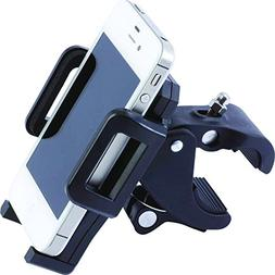 Deluxe Adjustable Mobility Phone Mount for Wheelchairs, Roll