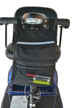 "Deluxe Tiller Bag for Mobility Scooters - 9""x 12"" x 2.5"""