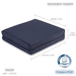 DMI Polyfoam Wheelchair Seat Cushion, Standard Foam Seat Cus
