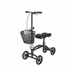 Drive Medical 796 Dual Pad Steerable Knee Walker with Basket