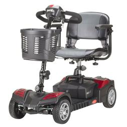 Drive Medical DST 4-Wheel Electric Power Mobility Travel Sco