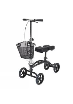 Drive Medical Dual Pad Steerable Knee Walker with Basket - O