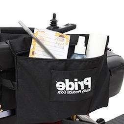 Pride Mobility LARGE Dual Saddle Armrest Mount Bag for Scoot