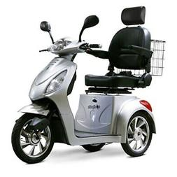 E-Wheels - EW-36 Full-Sized Scooter - 3-Wheel - Silver