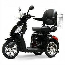 E-Wheels - EW-36 Full-Sized Scooter - 3-Wheel - Black