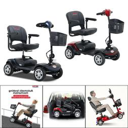 Electric Powered  4 Wheels Senior Mobility Scooter W/ LED He