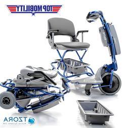 Tzora ELITE Easy Travel Folding Portable Electric Mobility S