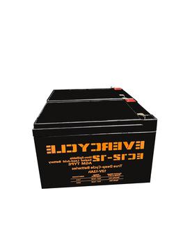 "EverCycle - 12V 12AH - ""F2 KID TRAX"" RECHARGEABLE REPLACEMEN"