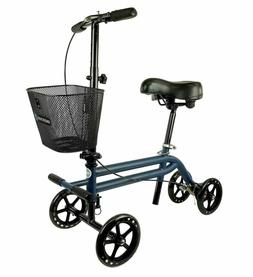 Evolution Steerable Seated Scooter Mobility Knee Walker Turn